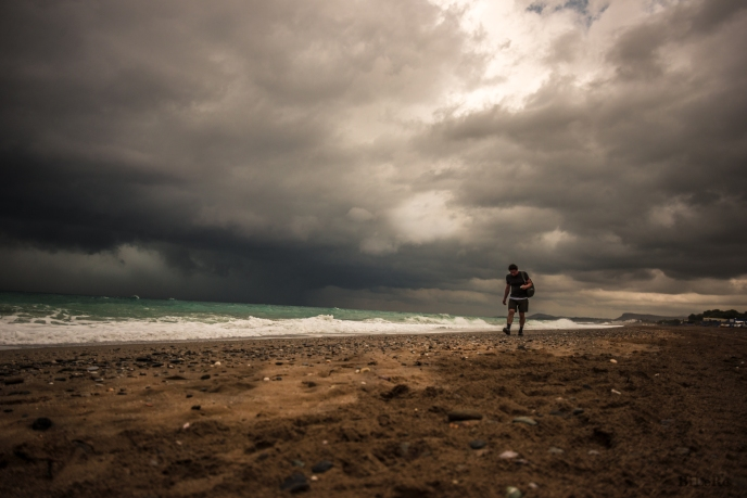 Stipciu am Meer