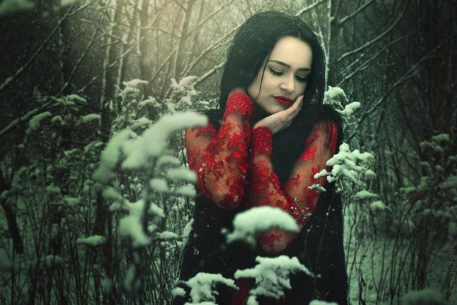 Justyna im Schnee_DSC6609
